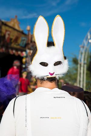 Rabbit mask 3498