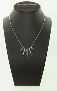 14KWG, .66ctw Diamond Necklace. $990.00