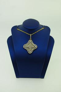 18KYG Pendant w/ 1.01cttw Diamonds. $1,665.00