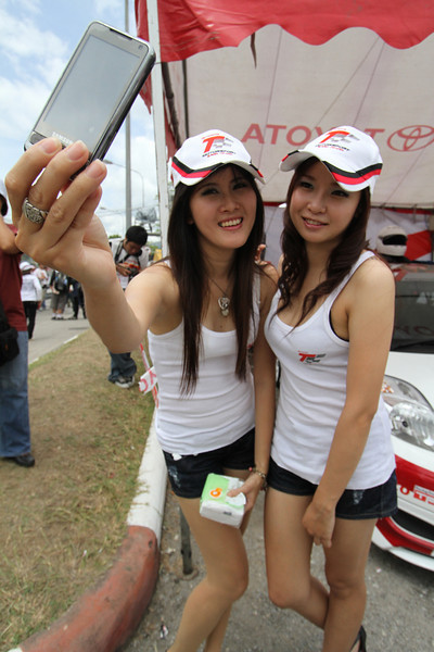 Toyota Race Day 2010, 700 Year Stadium, Chiang Mai, Thailand