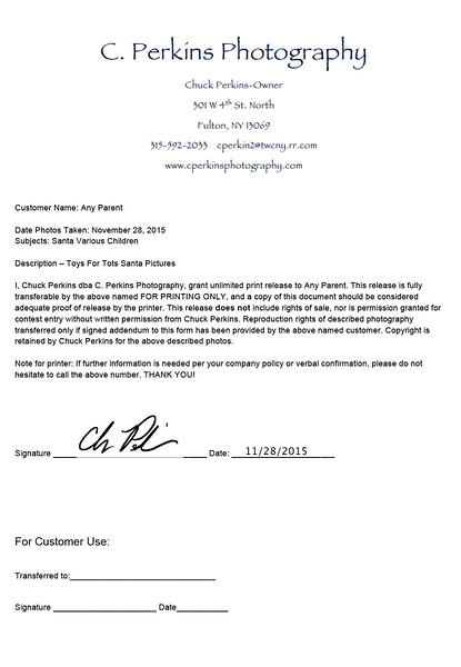 Microsoft Word - Print Release Form-Toys4 Tots.doc