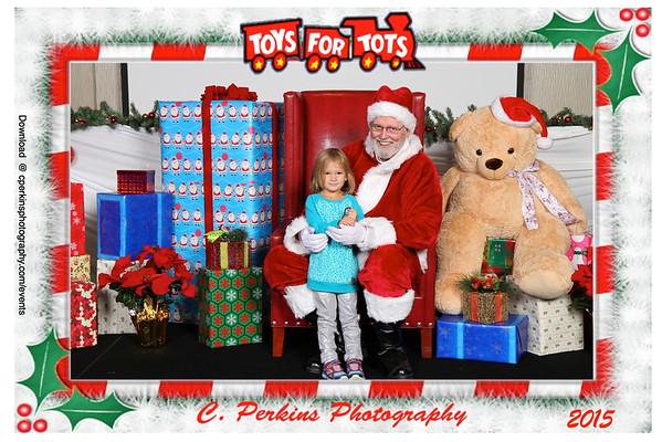 Toys For Tots Santa 2015