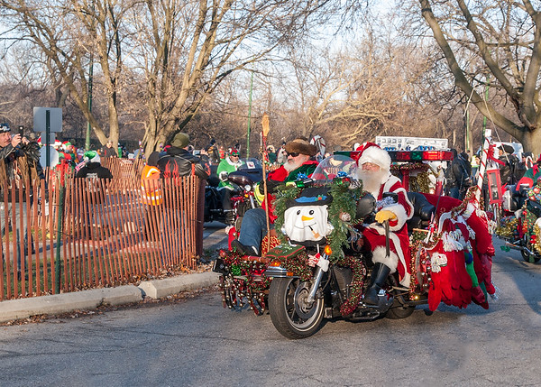Toys for Tots Parade 2015