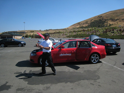 Audi A4 Driving Experience