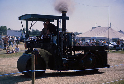 Traction Engine Rally, England, 1989