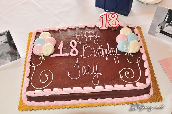 Tracy 18 Birthday Binner March 29 2015