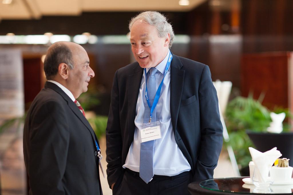 delegates mingling during tradewinds ship recycling forum 2016, dubai