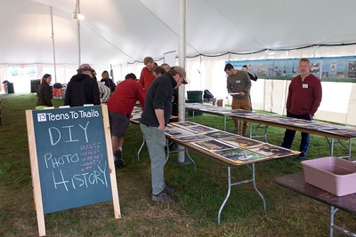TCA Centennial Reunion DIY Photo History Tables