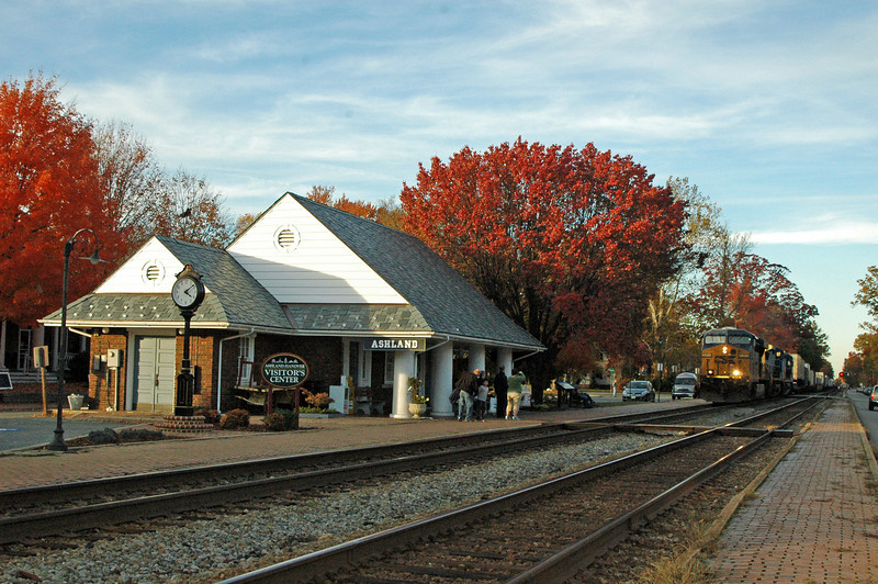 Ashland is a town born of the railroad. Developed by the railroad as a mineral springs resort, the orgin of the town dates back to the late 1840's.