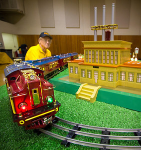 "Fred Houska brought a new layout that's never been at our show before.  These were the shiniest, brightest colored, most pristine model trains I've ever seen.  The kids and adults were absolutely enamored with them - as they should be.  It's hard not to say ""Wow""... or ""Woo-Woooo""."