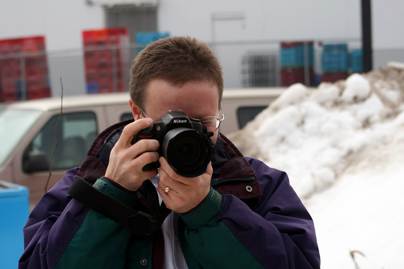 My Friend Michael - and his Nikon D80!