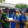 Entry team getting briefing