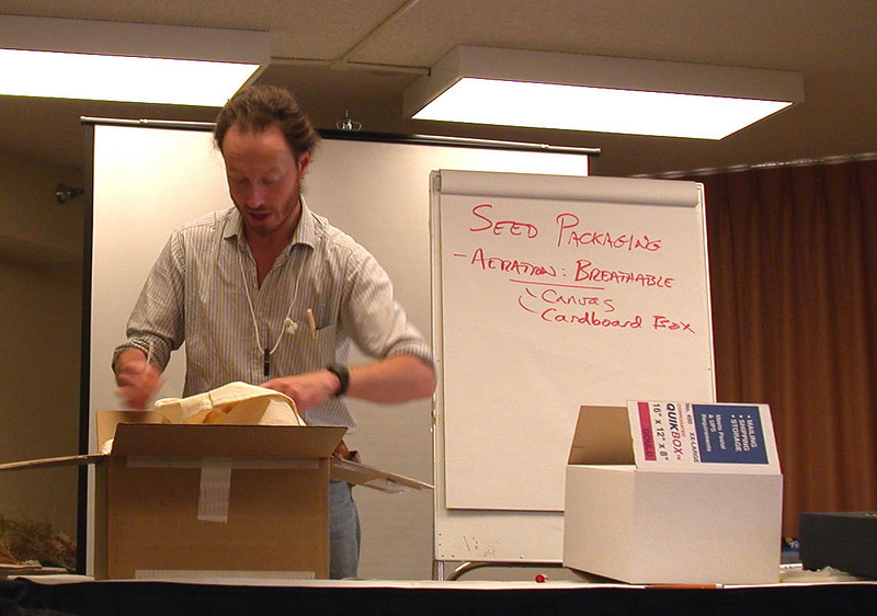 2002 Seeds of Success training class in Tucson, Arizona.  Photo by Olivia Kwong.