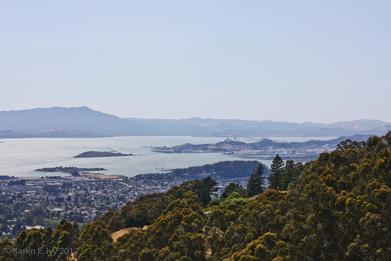 S.F. Bay from Lawrence Hall of Science