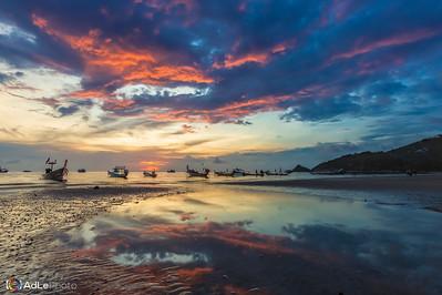 Sunset Sariee Beach - Koh Tao, Thailand