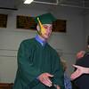 receivind diploma
