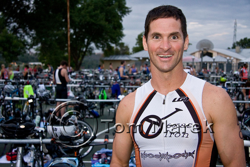 Austin athlete Jamie Cleveland is ready to compete in the Marble Falls Triathlon