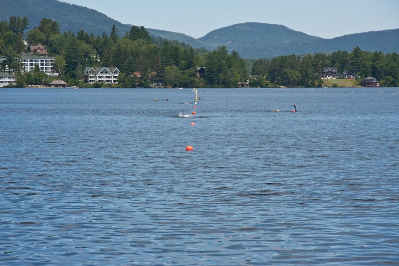 IMLP swim course in Mirror Lake