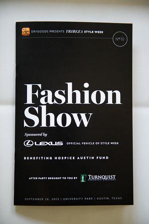 Tribeza Style Week Fashion Show Details