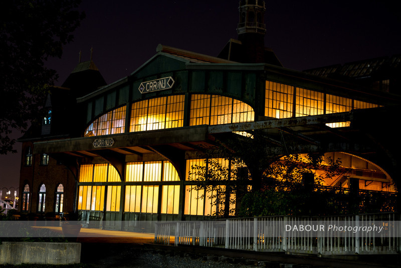 Historic Central Rail Road terminal at Liberty State Park, NJ.
