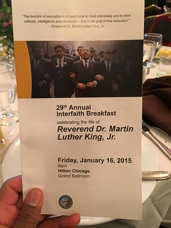 2015 Annual Dr. Martin Luther King, Jr. Interfaith Breakfast