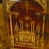 Wider view of the reliquary in the previous picture.