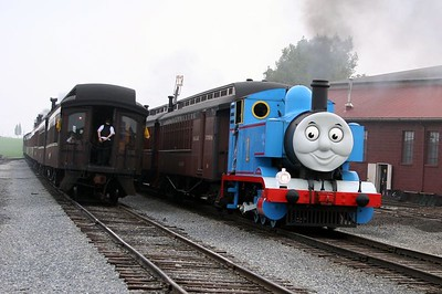 And here comes Thomas!