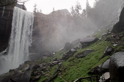 Mist trail is indeed very misty, especially in early summer.
