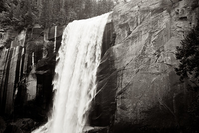 Vernal Falls from the Mist trail.