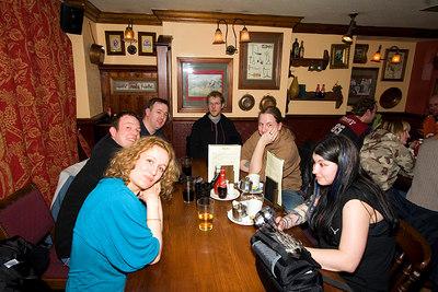 In the pub.... Dawn, Vaiman, cl_UK, meerkat, chilledcoder, palegothicangel