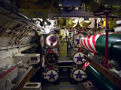 Torpedo compartment of the russian Scorpion class submaribne