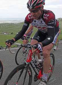 Jens Voigt riding in the breakaway