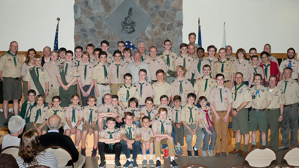Troop Five 25th anniversary