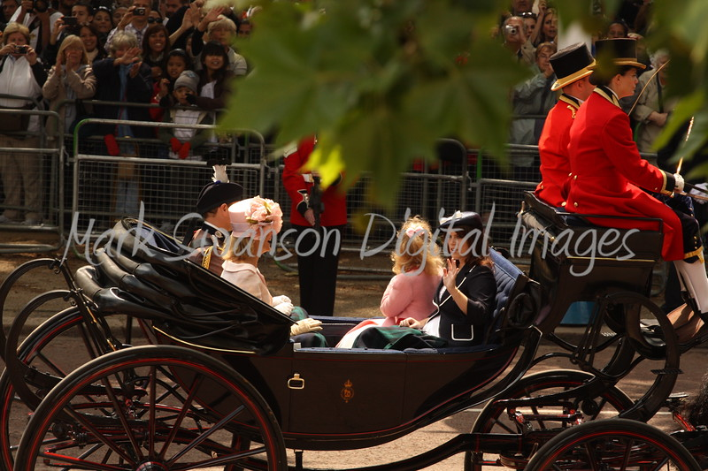 Prince Edward, Earl of Wessex; Sophie, Countess of Wessex; Princess Eugene