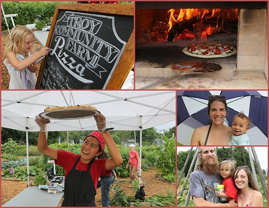July 28th, 2016 Collage Marker for another Troy Community Farm Pizza Night