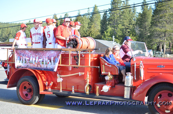 Truckee Little League parade April 27, 2013