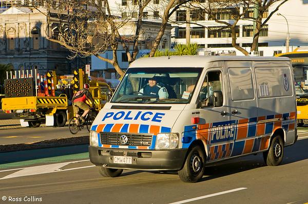 Trucker Protest, Wellington, 4 July 2008