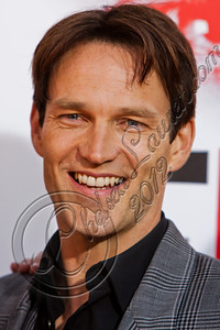 "HOLLYWOOD, CA - MAY 30:  Actor Stephen Moyer attends HBO's ""True Blood"" Season 5 Los Angeles premiere at ArcLight Cinemas Cinerama Dome on May 30, 2012 in Hollywood, California.  (Photo by Chelsea Lauren/WireImage)"