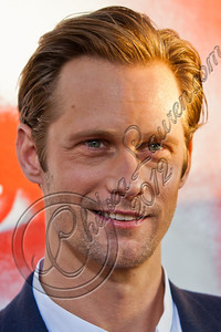 "HOLLYWOOD, CA - MAY 30:  Actor Alexander Skarsgard attends HBO's ""True Blood"" Season 5 Los Angeles premiere at ArcLight Cinemas Cinerama Dome on May 30, 2012 in Hollywood, California.  (Photo by Chelsea Lauren/WireImage)"