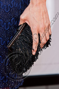 "HOLLYWOOD, CA - MAY 30:  Actress Michelle Forbes (clutch detail) attends HBO's ""True Blood"" Season 5 Los Angeles premiere at ArcLight Cinemas Cinerama Dome on May 30, 2012 in Hollywood, California.  (Photo by Chelsea Lauren/WireImage)"