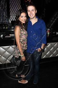 HOLLYWOOD, CA - JUNE 02:  Actors Cristina Squyres (L) and Matthew Fahey attend Truheart Events' 1st Annual Wonderland Suite benefiting Children's Hospital Los Angeles at Tru Hollywood on June 2, 2012 in Hollywood, California.  (Photo by Chelsea Lauren/WireImage)