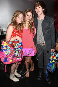 HOLLYWOOD, CA - JUNE 02:  Actor Noah Crawford (R) and his sisters attend Truheart Events' 1st Annual Wonderland Suite benefiting Children's Hospital Los Angeles at Tru Hollywood on June 2, 2012 in Hollywood, California.  (Photo by Chelsea Lauren/WireImage)