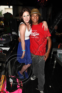 HOLLYWOOD, CA - JUNE 02:  DJ Kid Fish (L) and television personality / dancer Snap Boogie attend Truheart Events' 1st Annual Wonderland Suite benefiting Children's Hospital Los Angeles at Tru Hollywood on June 2, 2012 in Hollywood, California.  (Photo by Chelsea Lauren/WireImage)
