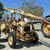 Shopbuilt boom hoist tractor in auction