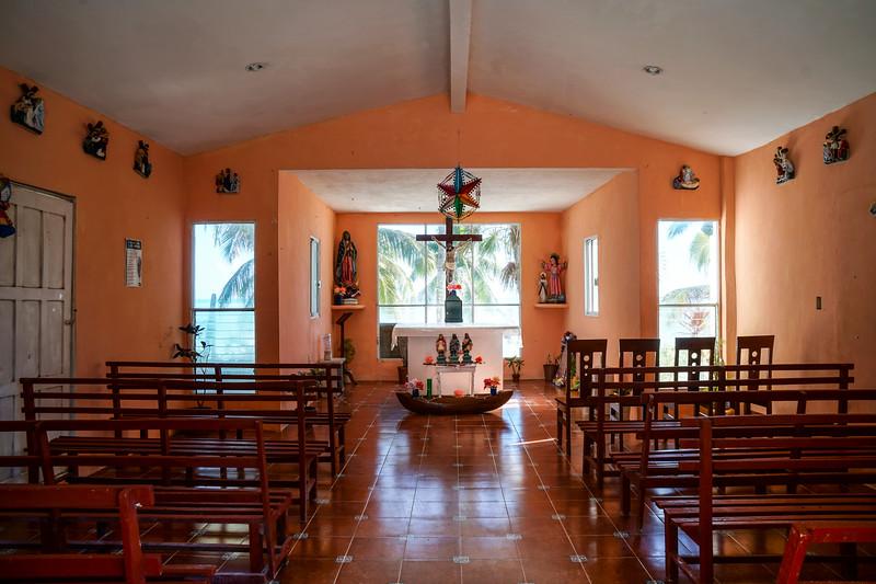 Punta Allen church