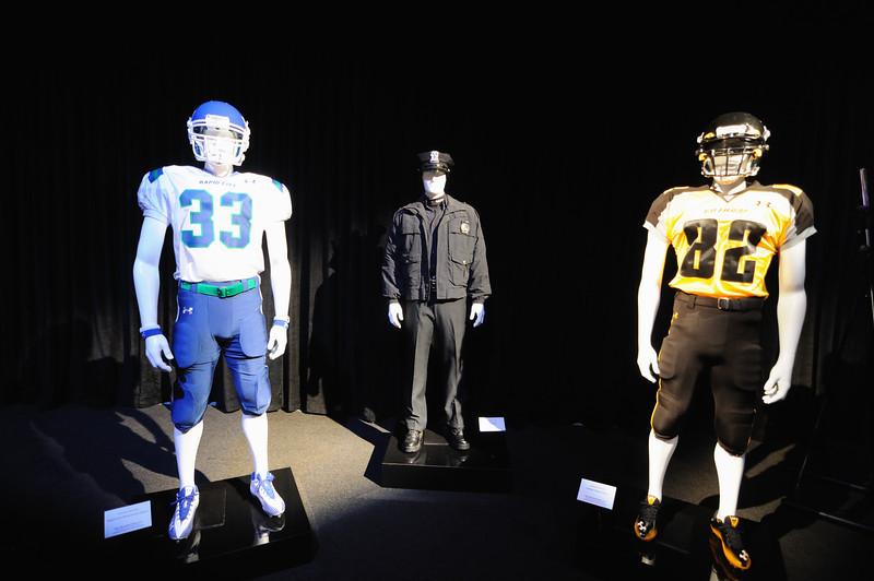 Football player uniforms