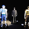 Football player uniforms