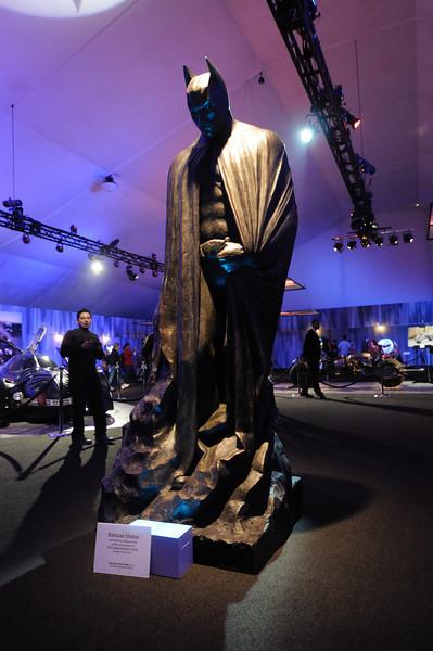 Batman statue from The Dark Knight Rises