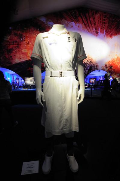Joker (Heath Ledger) nurse outfit from The Dark Knight