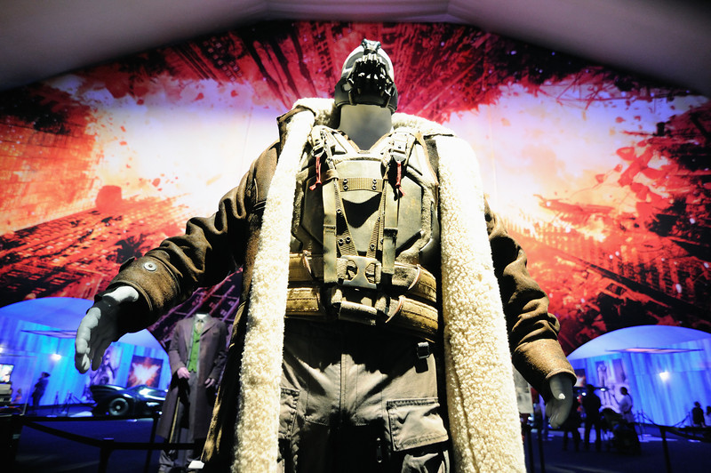 Bane (Tom Hardy) costume from The Dark Knight Rises